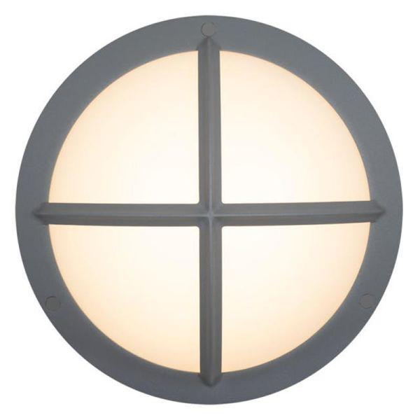Hide-a-Lite Moon Public Cross I Seinävalaisin 3000/4000K, 16W, IP65, IK10 Harmaa, 1120 lm