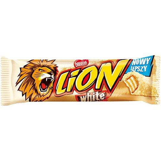 "Chokladbar ""Lion White"" 42g - 28% rabatt"