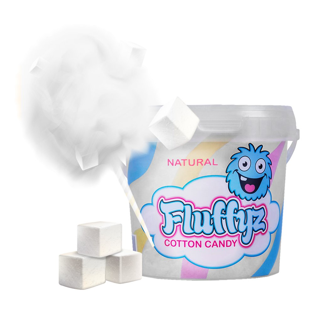 Fluffyz Sockervadd - Naturell