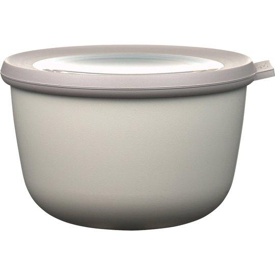 Rosti Mepal Skål med Lock Cirqula 1000 ml Nordic White