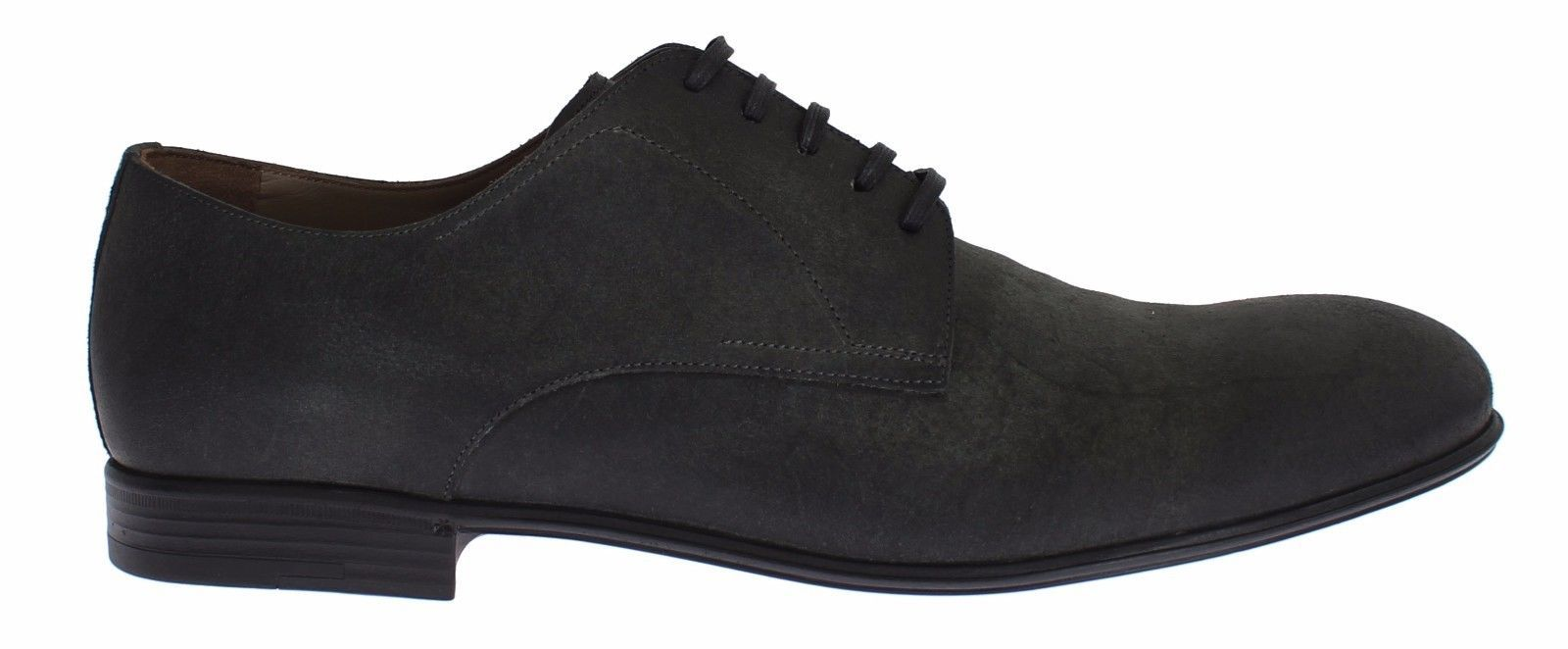 Dolce & Gabbana Men's Leather Formal Derby Shoes Green SIG17141 - EU39/US6