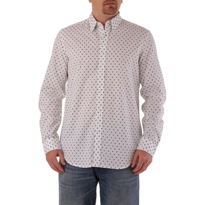 Diesel Men's Shirt White 287422 - white XL