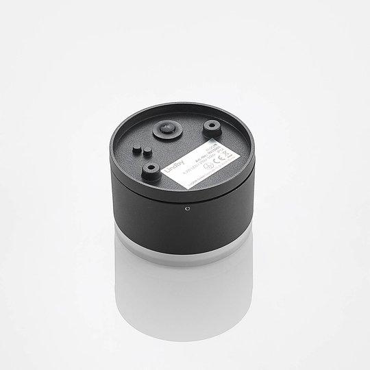 Lindby Mathea -LED-ulkokattolamppu, lieriö