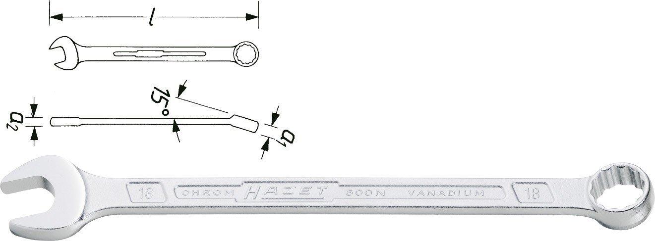 Blocknyckel 10mm