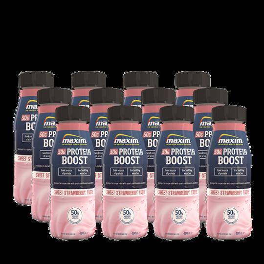 12 x Maxim Protein Boost, 480ml