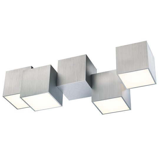 GROSSMANN Rocks LED-kattovalaisin 4-lamppuinen