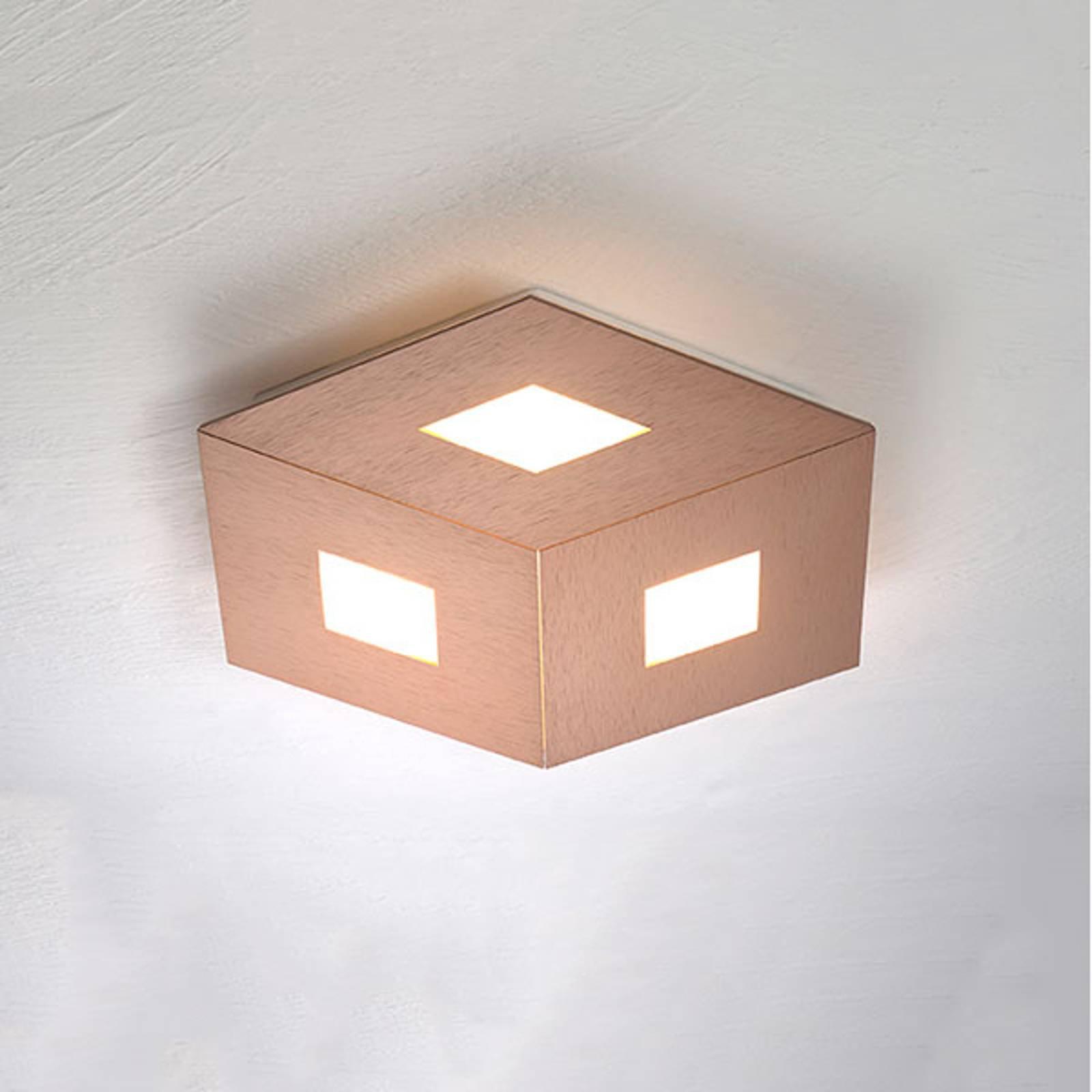 Bopp Box Comfort LED-taklampe roségull 35cm