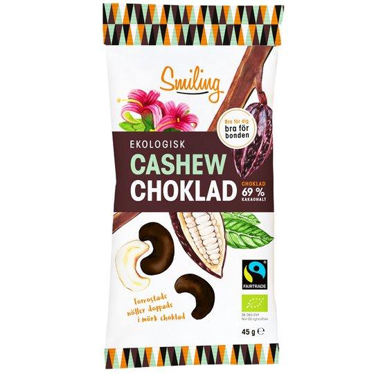 Eko Cashew Mörk Choklad - 12% rabatt