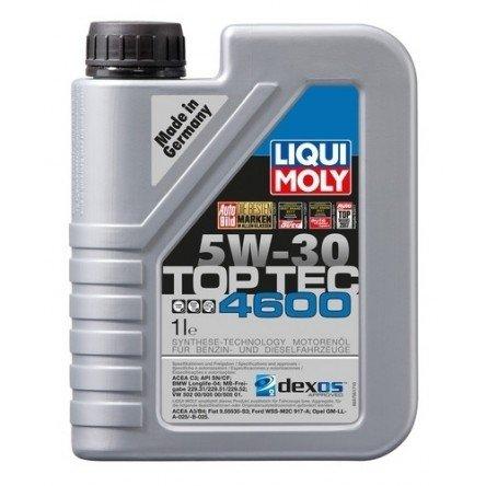 Moottoriöljy LIQUI MOLY TOP TEC 4600 5W30 1L