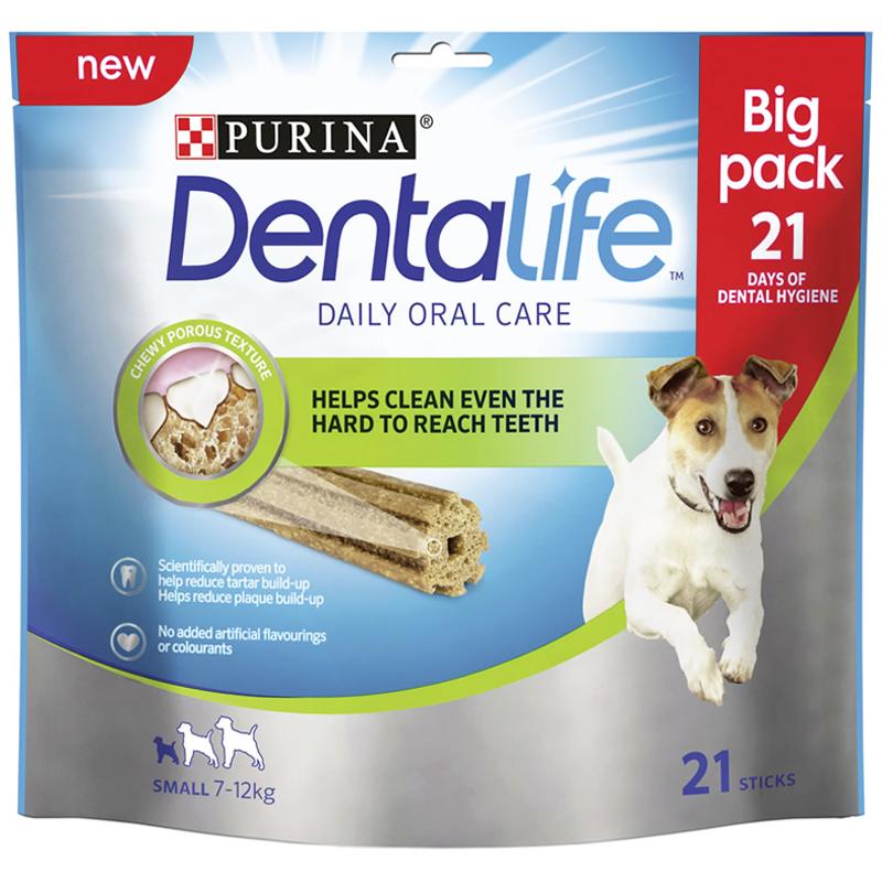 "Purutikut ""Dentalife Small"" 345 g - 20% alennus"