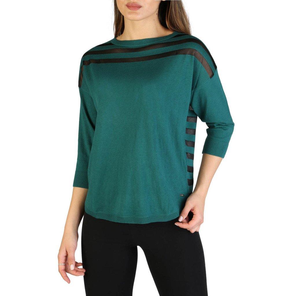 Armani Exchange Women's Sweater Green 3ZYM1U_YMF2Z - green XS