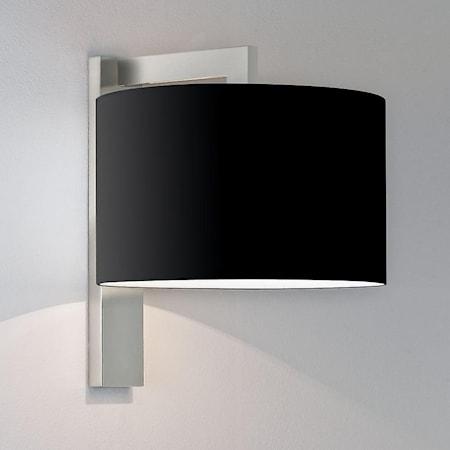 Ravello Vägglampa Matt Nickel Exklusive lampskärm