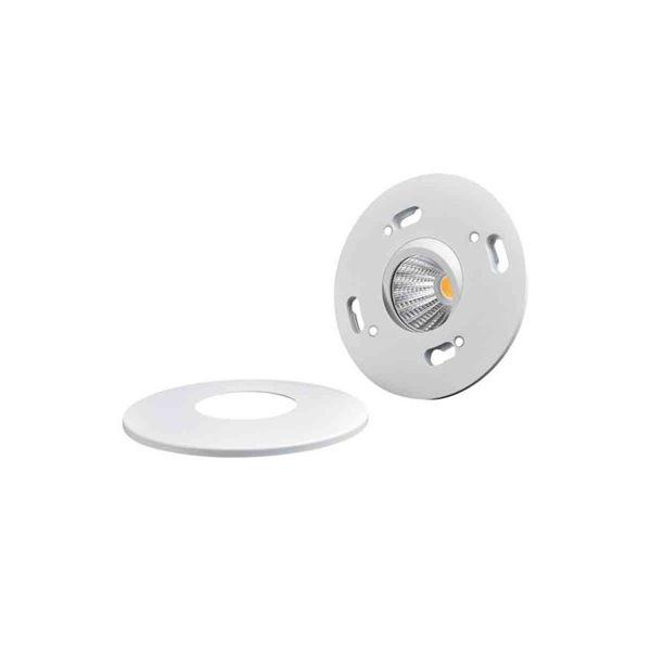 Designlight DB-240MW Downlight hvit, 3000 K