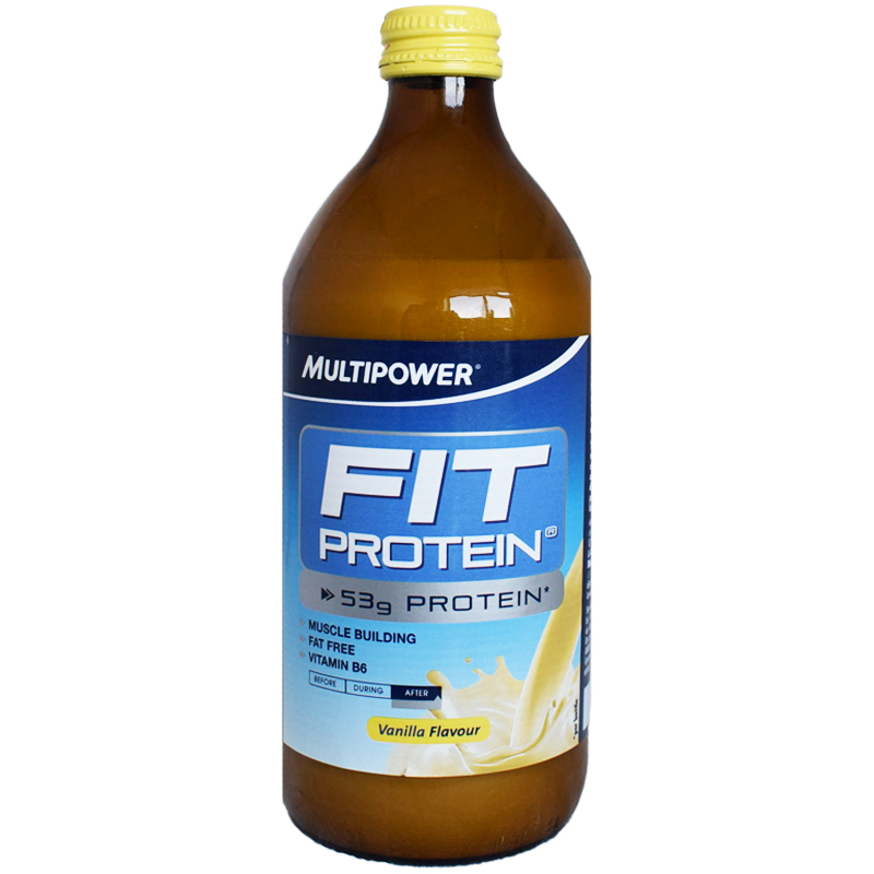 "Proteindryck ""Vanilla"" 500ml - 58% rabatt"