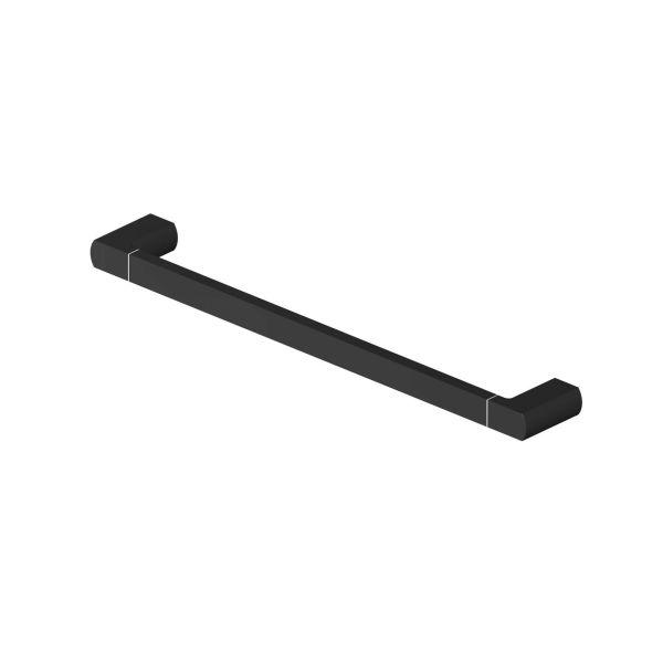 Gustavsberg Square Håndklestang 45 cm Matt svart
