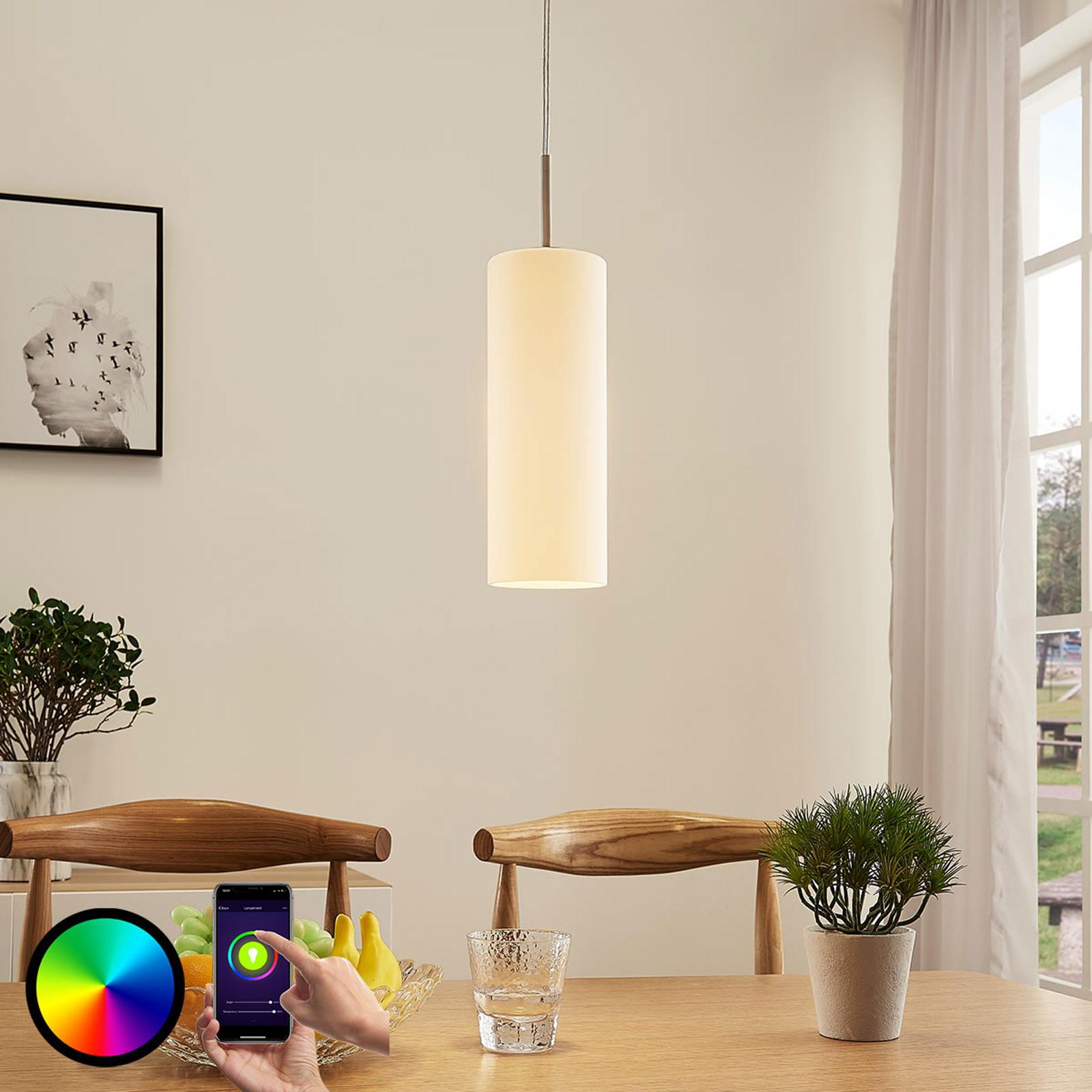 Lindby Smart LED-riippuvalaisin Felice, RGB-lamppu