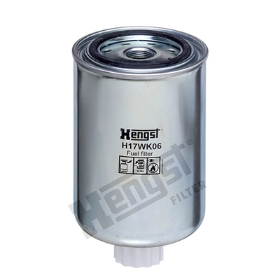 Polttoainesuodatin HENGST FILTER H17WK06