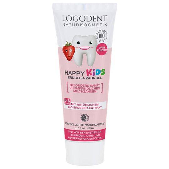 Logona Happy Kids Strawberry Toothgel, 50 ml