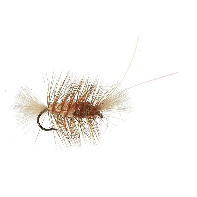 Mini CDC Bomber - Brown/White Kjøp 12 fluer få gratis flueboks