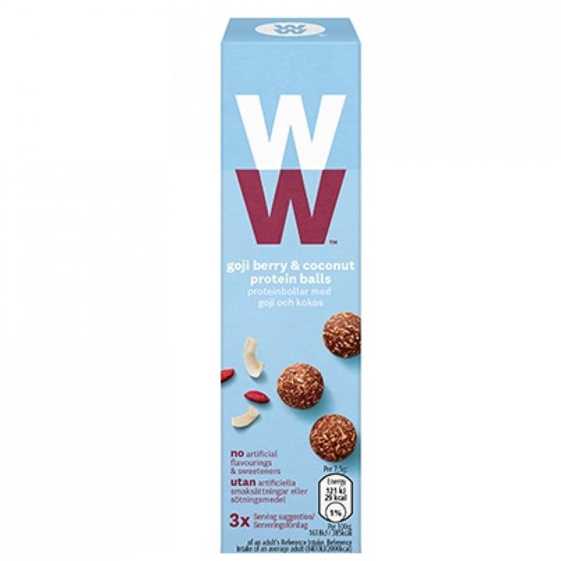 Proteinbollar Goji Berry & Coconut 3-pack - 53% rabatt