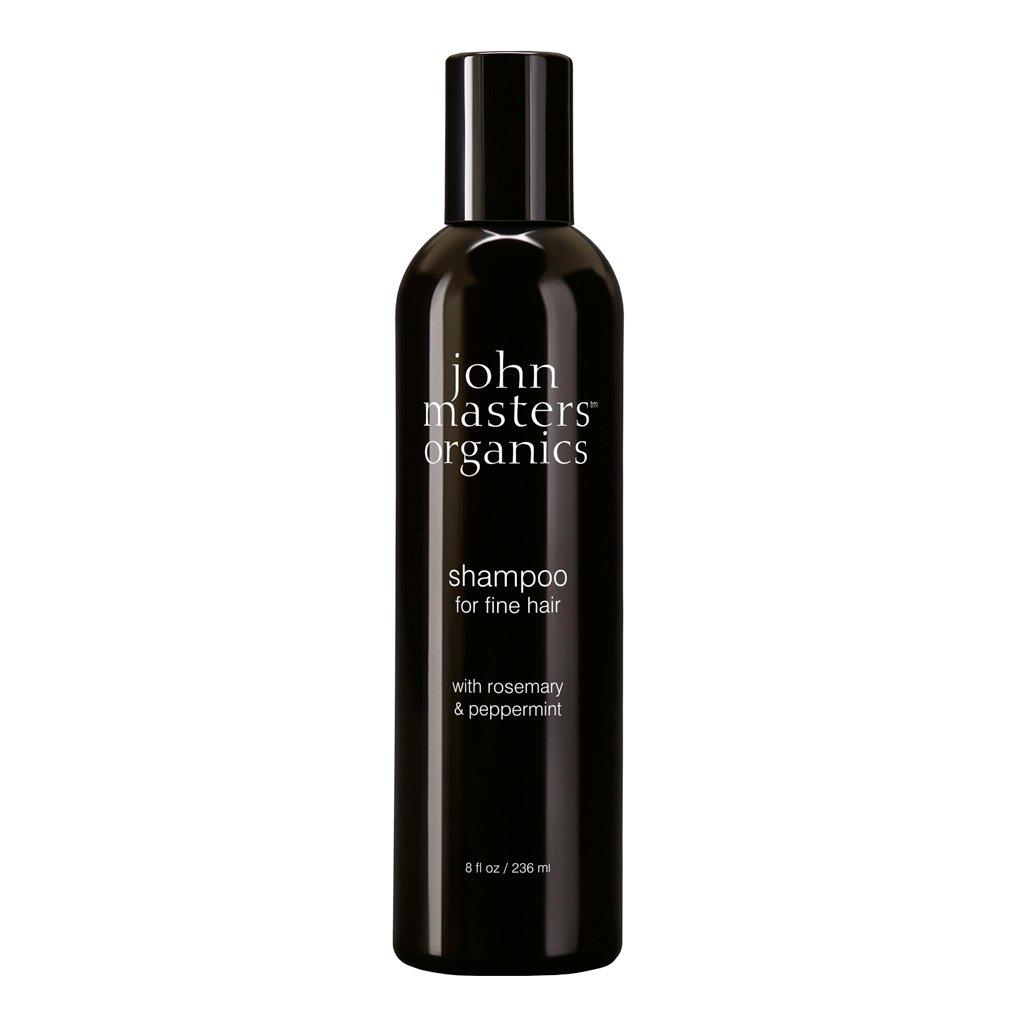John Masters Organics - Shampoo for Fine Hair w. Rosemary & Peppermint 236 ml