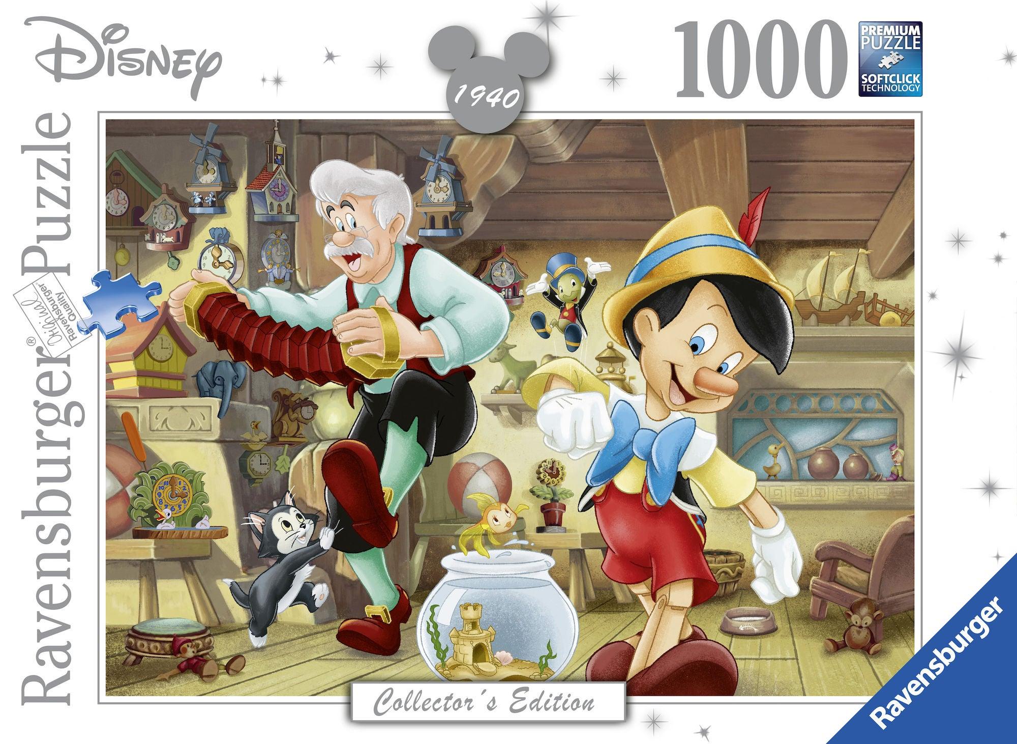 Ravensburger Pussel Pinocchio 1000 Bitar