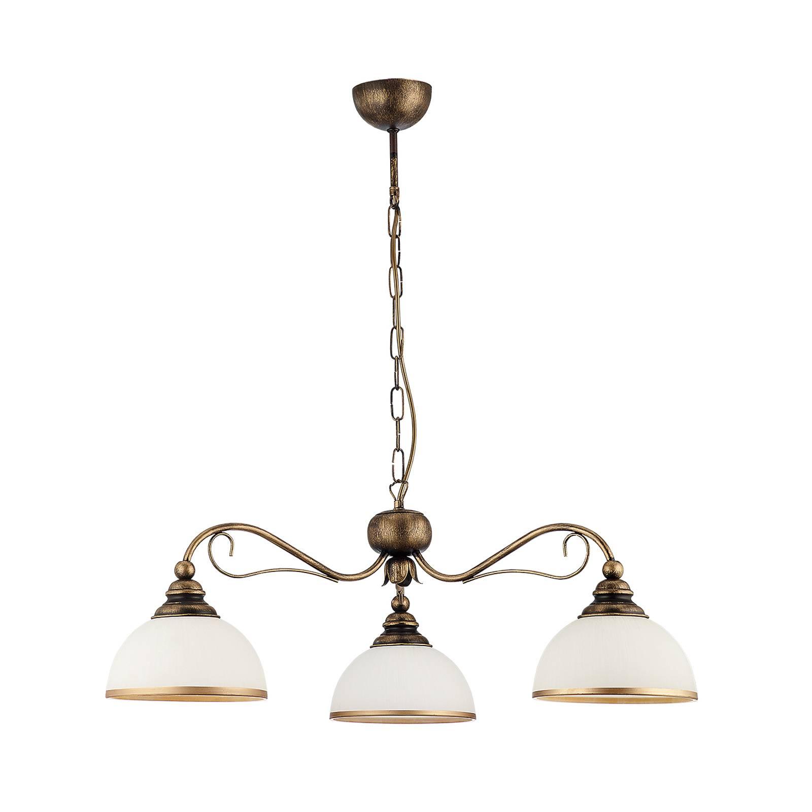 Riippuvalo Casale, 3-lamppuinen, Ø 74 cm