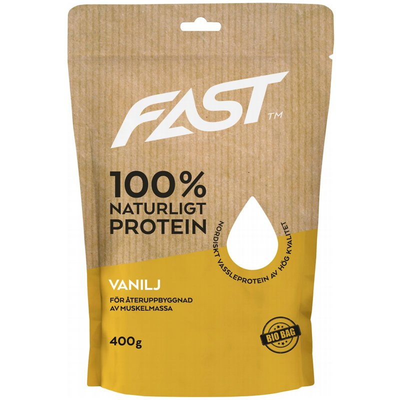 "Proteiinijauhe ""Vanilja"" 400g - 69% alennus"