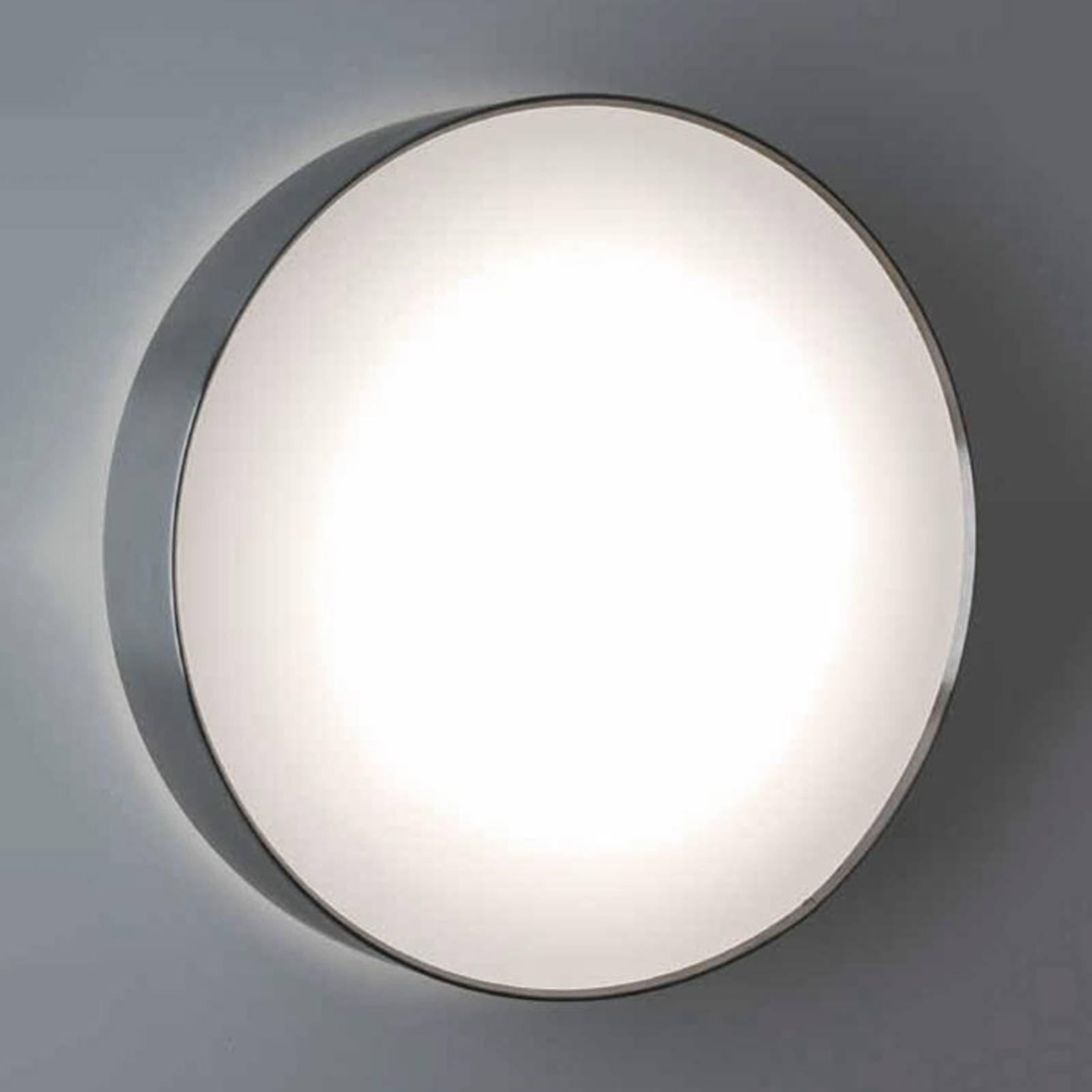 SUN 4 LED-taklampe i rustfritt stål m. 13 W og 4 K