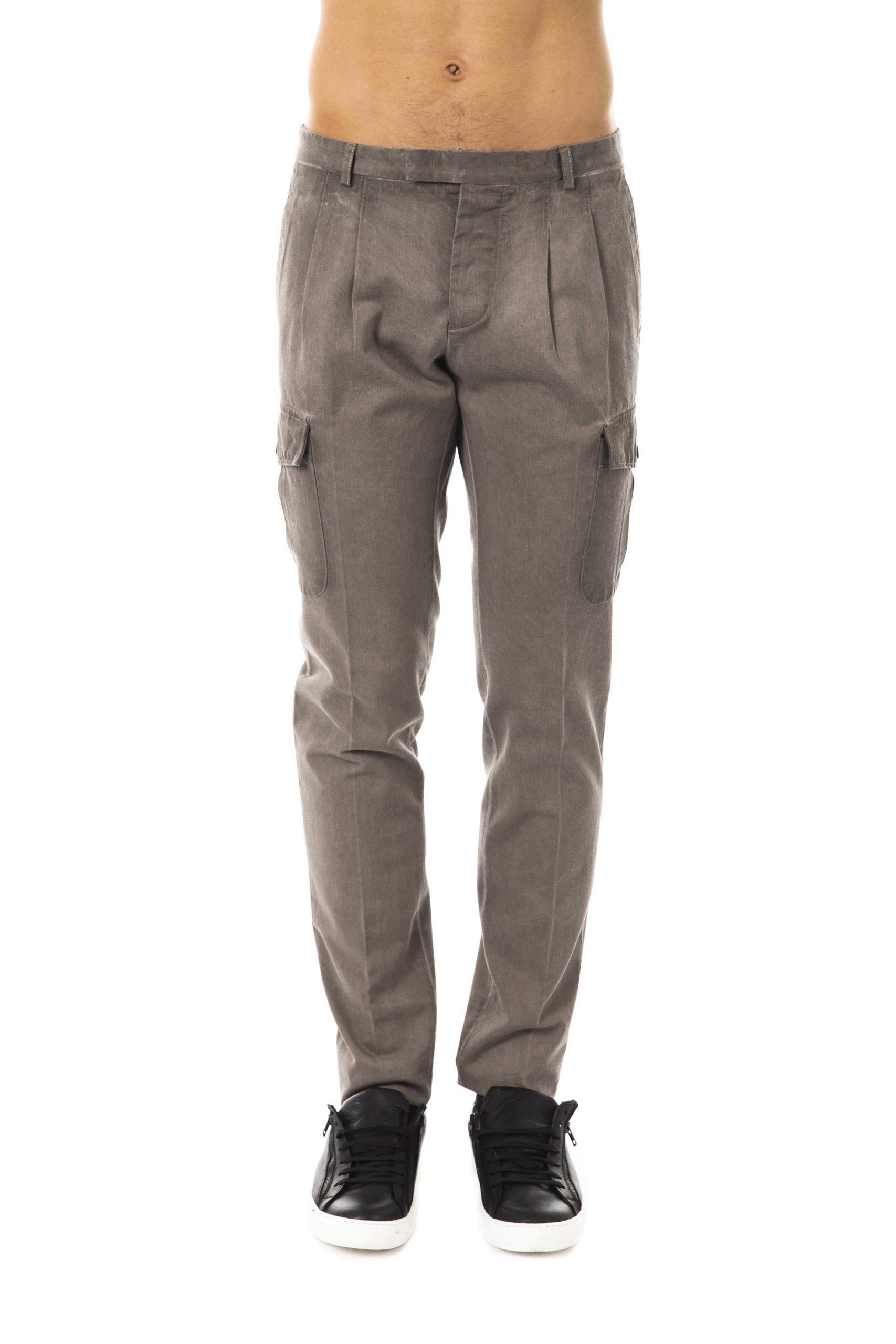 Uominitaliani Men's Trouser Gray UO1394764 - IT50 | L