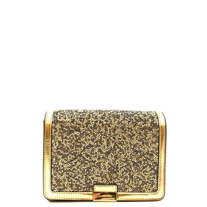 Michael Kors Women's Handbag Brown 308684 - gold UNICA