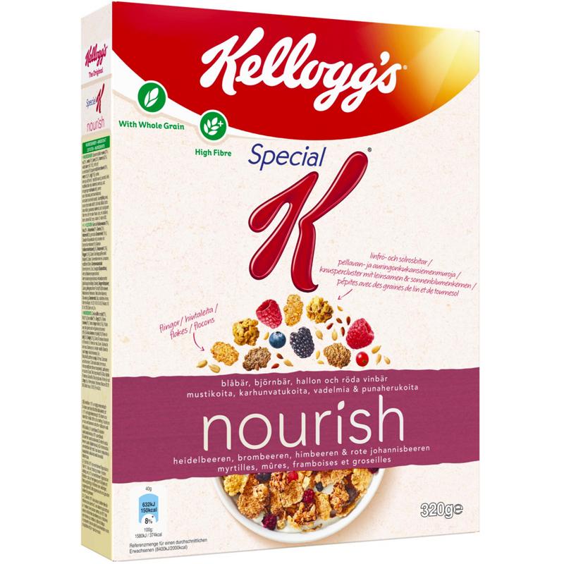 """Flingor """"Nourish Dark Berries"""" 330g - 50% rabatt"""