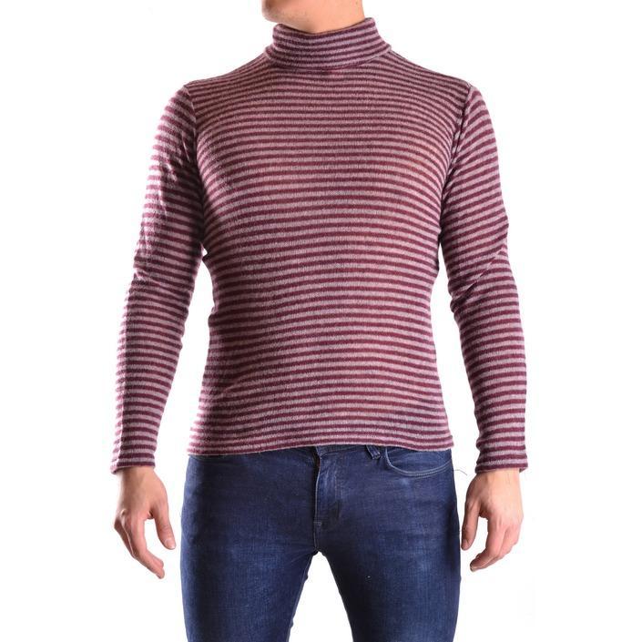 Daniele Alessandrini Men's Sweater Bordeaux 163095 - bordeaux M