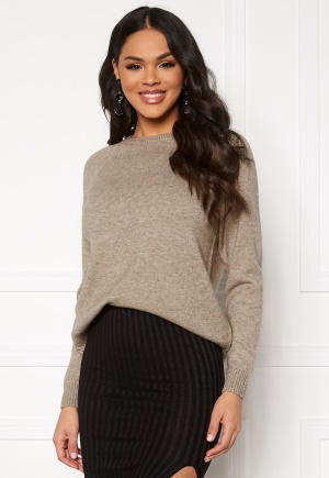ONLY Lesly Kings L/S Pullover Beige XS