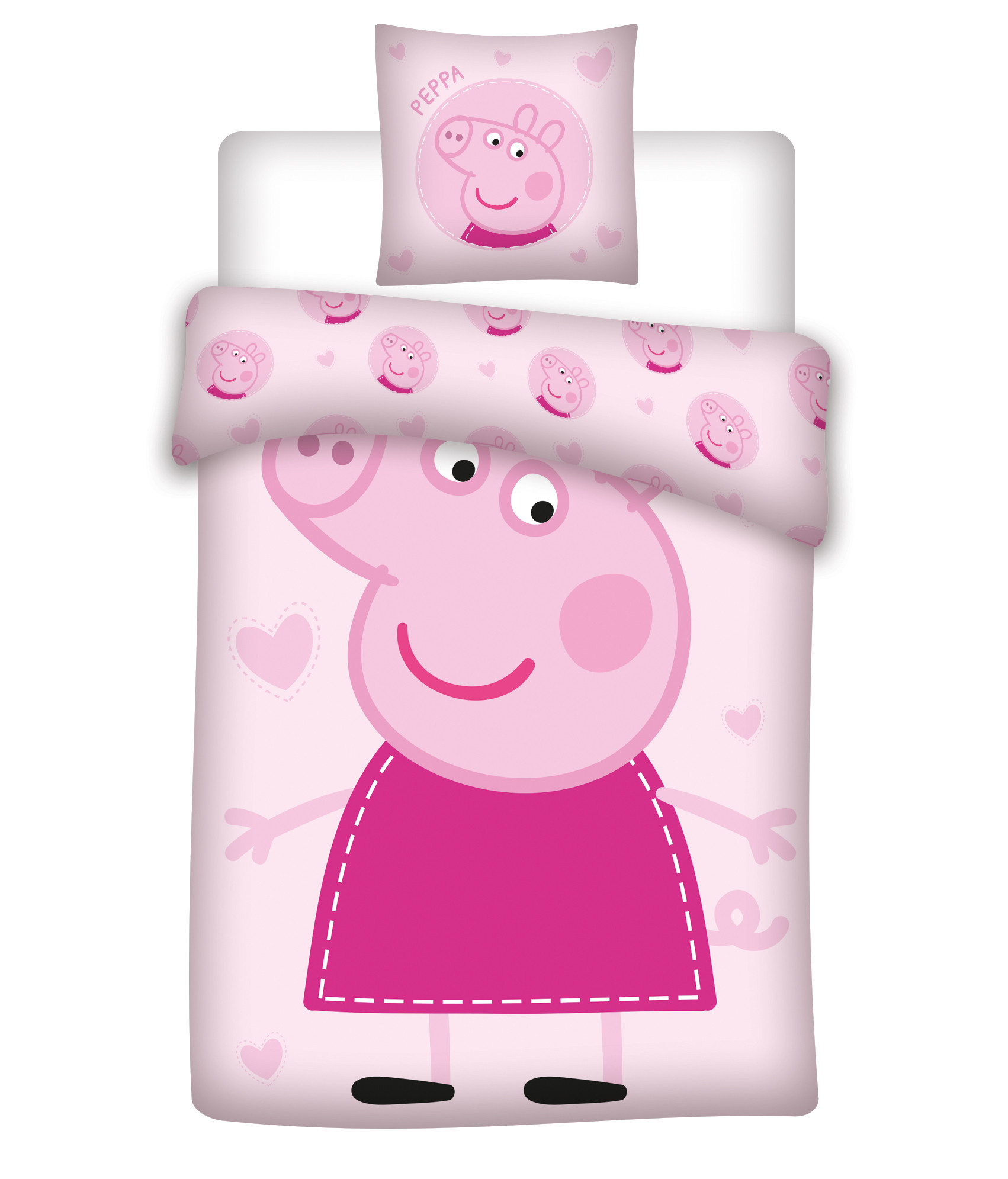 Bed Linen - Adult Size 140 x 200 cm - Peppa Pig (1000391)