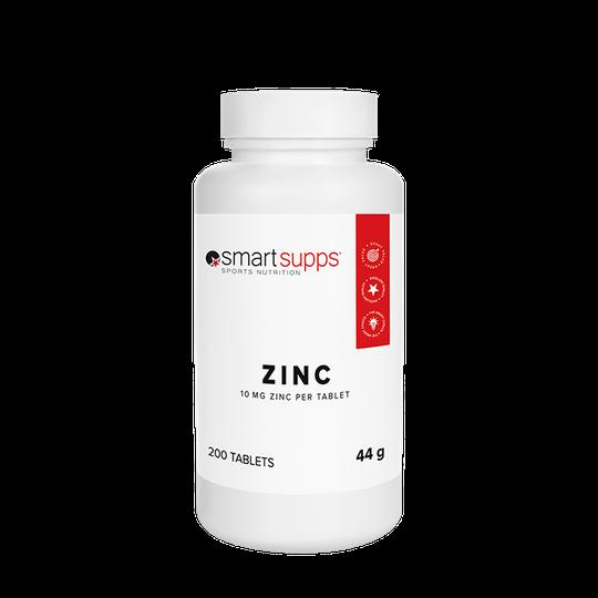 SmartSupps Zinc Citrate, 200 tabs