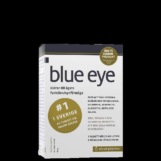 Blue Eye, Mustikkauute, 64 tablettia