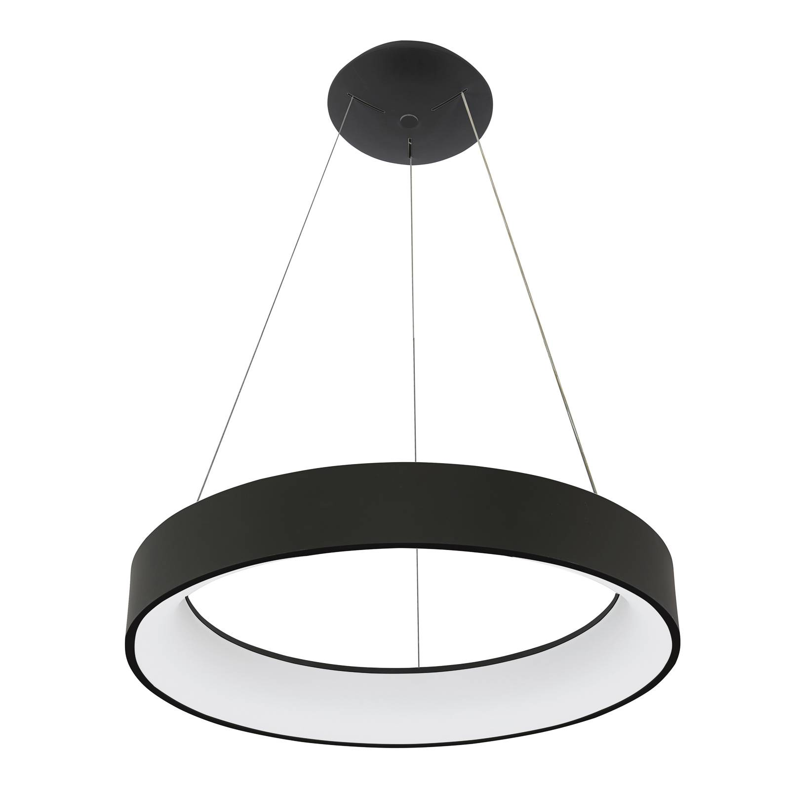 Arcchio Aleksi -LED-riippuvalaisin, Ø 60 cm pyöreä