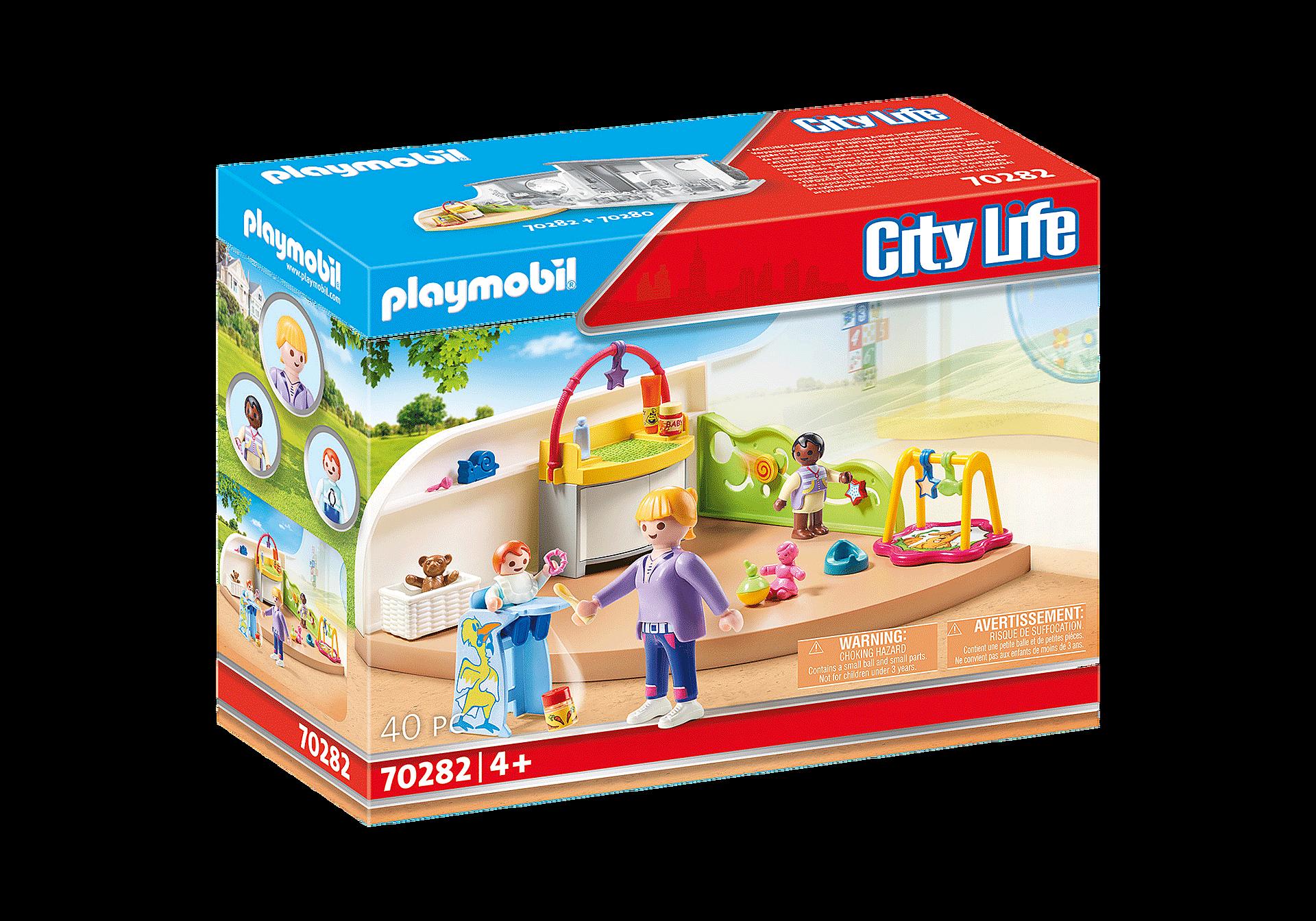 Playmobil - Toddler Room (70282)