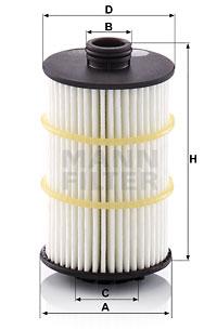 Öljynsuodatin MANN-FILTER HU 7024 z