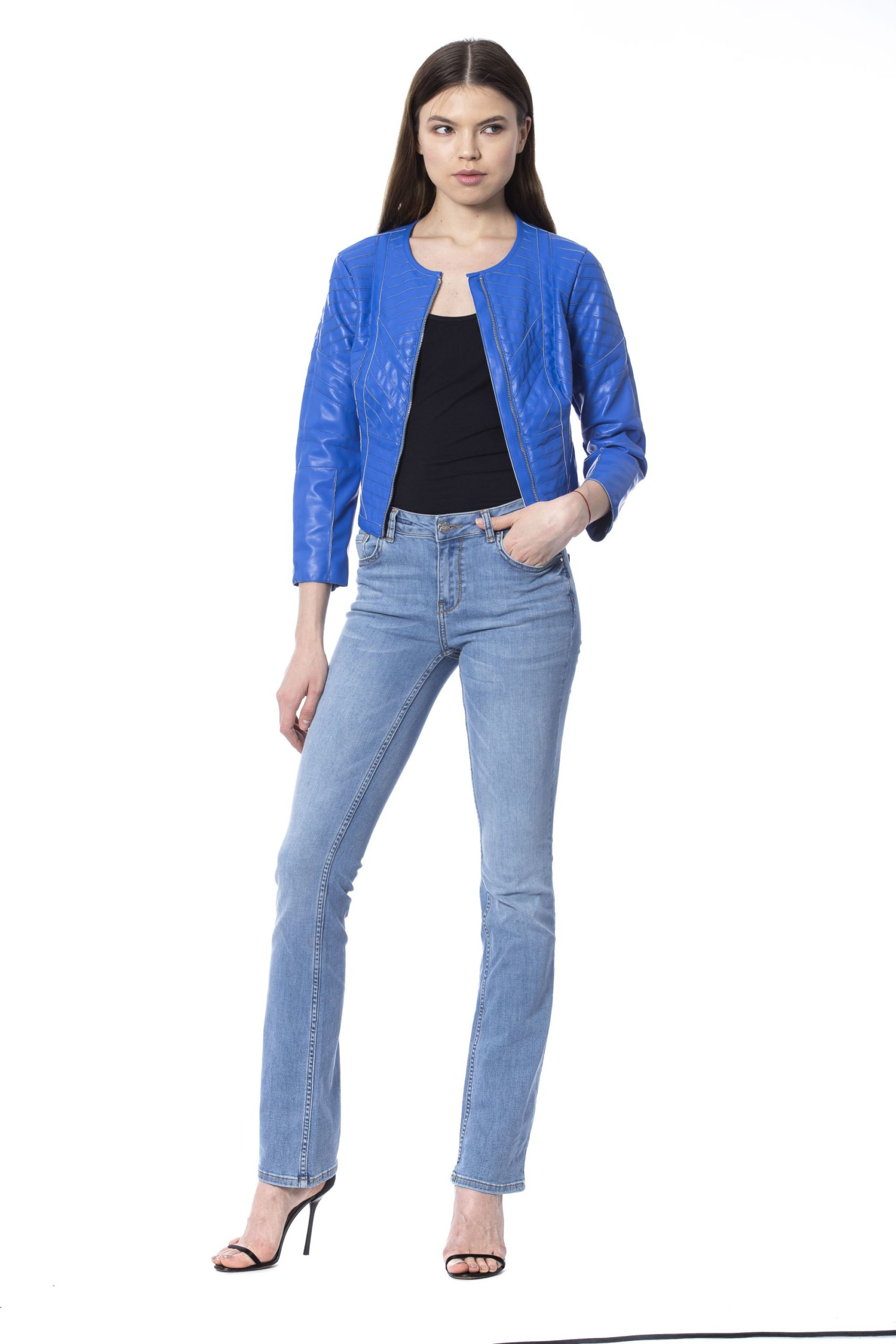 Silvian Heach Women's Jackets Blue SI993866 - XXS