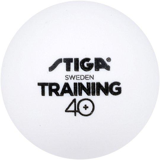 STIGA BordtennisBaller Training ABS 6-pack, Hvit