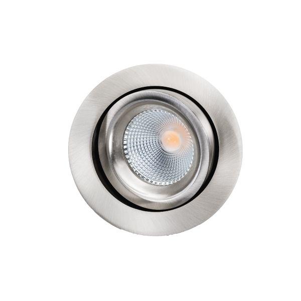SG Armaturen Junistar Lux Downlight-valaisin 68 lm/W Harjattu teräs
