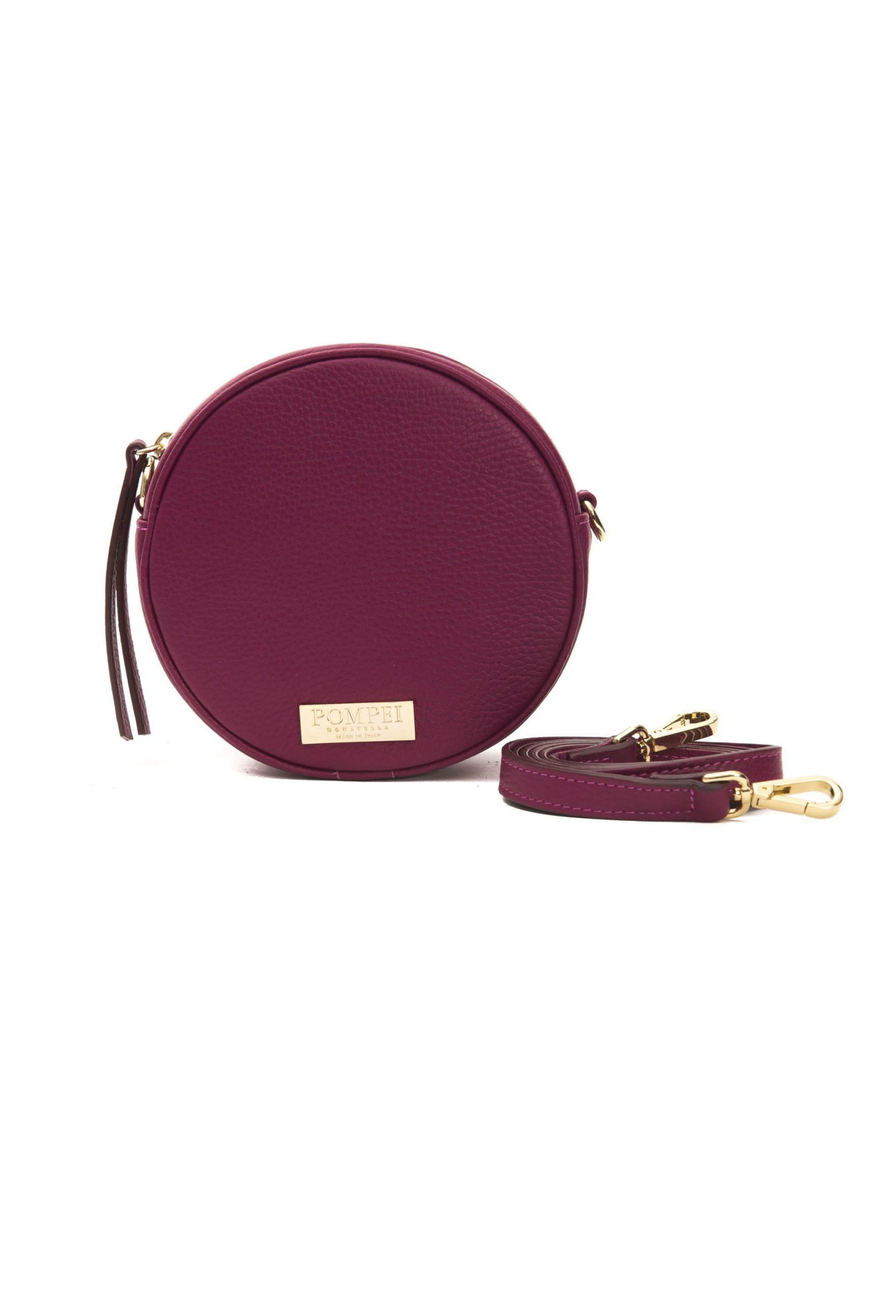 Pompei Donatella Women's Amaranto Crossbody Bag Burgundy PO1004933