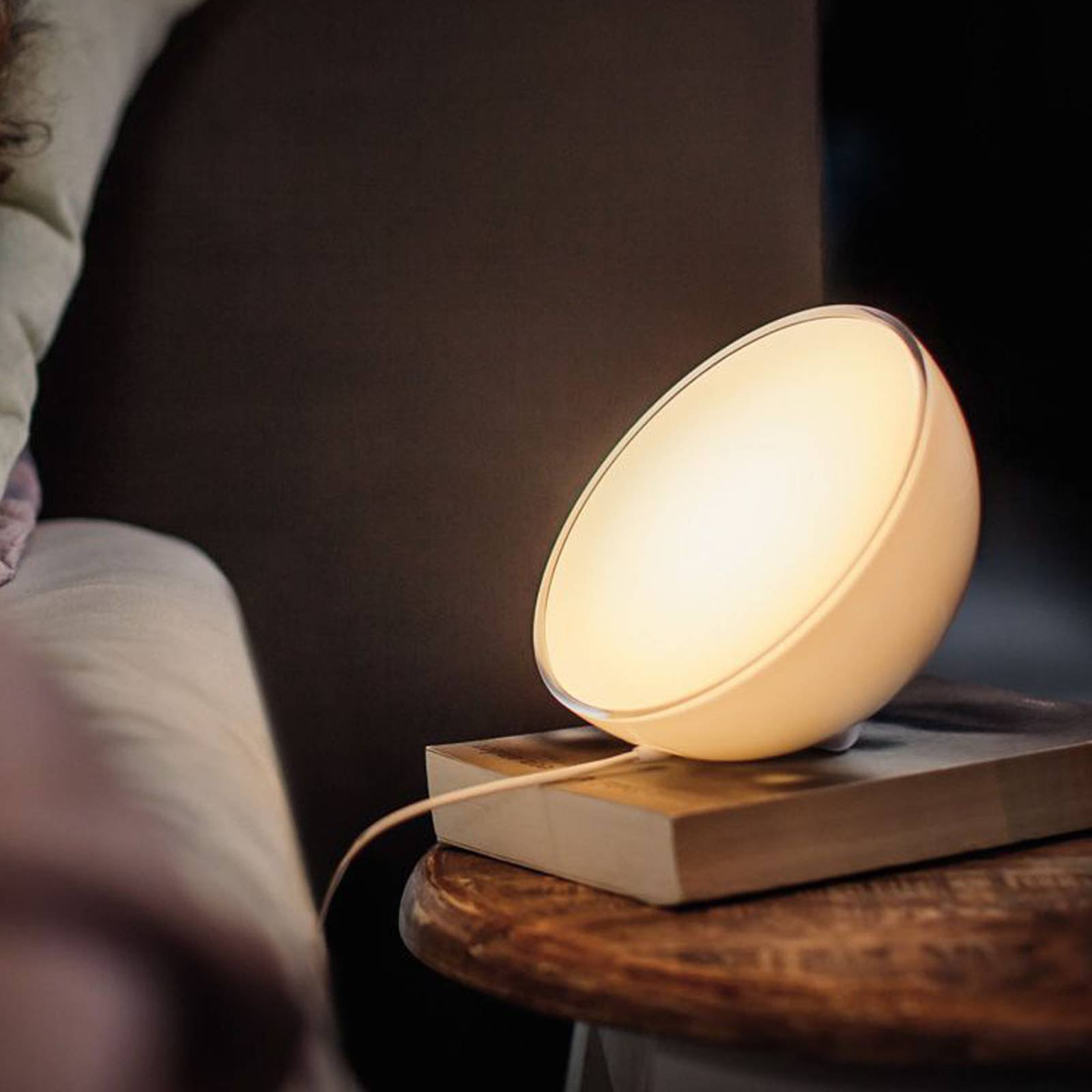 Philips Hue Go bordlampe White and Color Ambiance