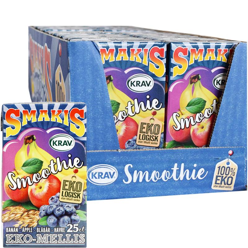 Smoothie Blåbär & Banan 27-pack - 48% rabatt