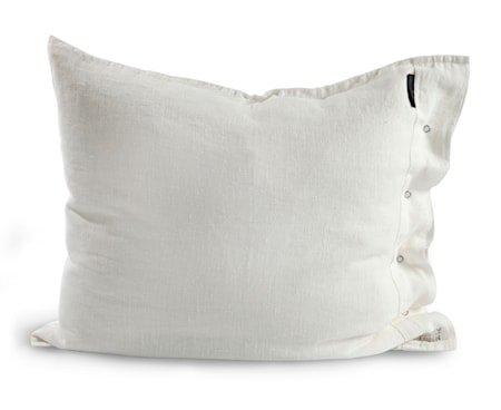 Lovely linen putetrekk – Off white, 50x60