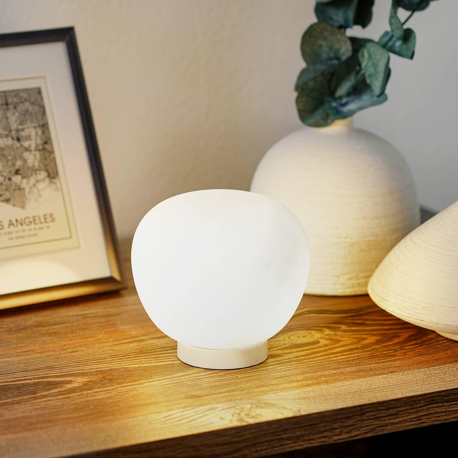 Fabbian Lumi Mochi -pöytälamppu, Ø 12 cm