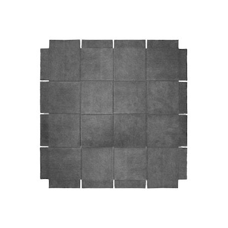 Basket Matta Grå 245x245 cm
