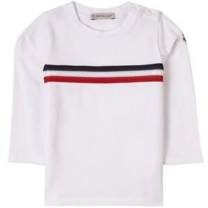 Moncler Maglia T-shirt Vit 9-12 mån